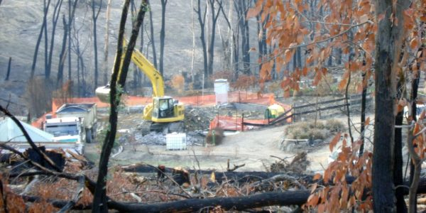 Black Saturday Bushfire Cleanup