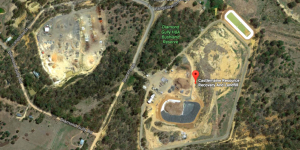 Castlemaine Landfill Cell 7