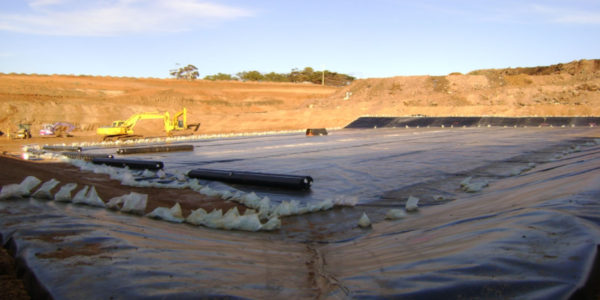 Bulla Landfill Cell Construction